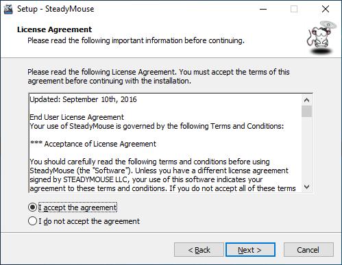 SteadyMouse - User Manual